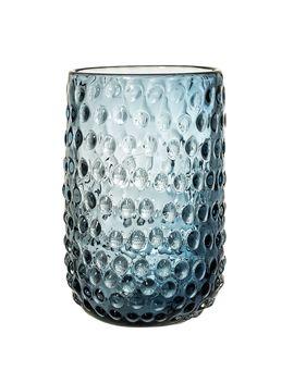 Blue Bubble Vase by Bloomingville