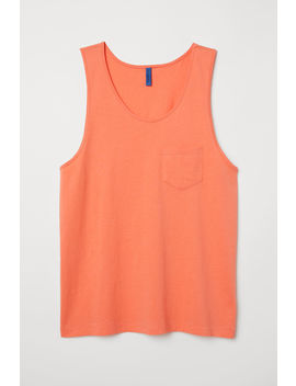 Vest Top With A Chest Pocket by H&M