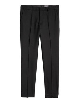 Wool Suit Trousers Skinny Fit by H&M