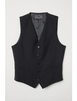 Wool Blend Suit Waistcoat by H&M