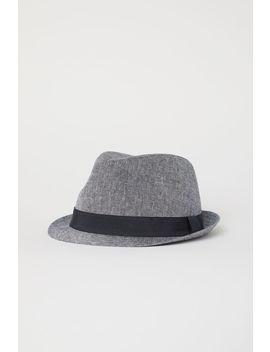 Linen Blend Hat by H&M