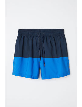 Block Coloured Swim Shorts by H&M