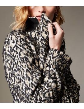 Leopard Print Longline Coat by Cd010 Td212 Fd059 Pc099 Cd033 Cd038 Cd017 Cd036 Cd044 Cd058 Kd20680810 Jd089 Jd099 Cd066 Cd006 Jd016