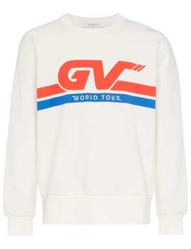 Motorcross Print Cotton Sweatshirt by Givenchy