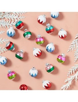 Shiny Brite™ Ornaments (Set Of 20) by West Elm