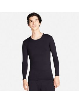 Men Ai Rism Performance Support Long Sleeve T Shirt by Uniqlo