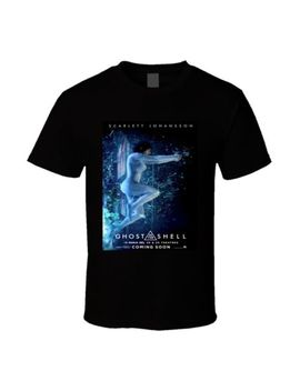 Ghost In The Shell Imax Poster Sci Fi Cult Movie T Shirt by Alstyle Apparel