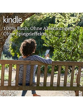 Kindle E Reader, 15,2 Cm (6 Zoll) Touchscreen Ohne Spiegeleffekte, Wlan (Schwarz) by Amazon