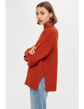 Funnel Neck Jumper by Topshop