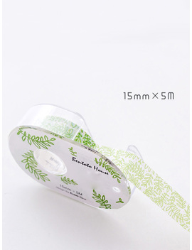 Branch Painting Dispenser Masking Tape by Romwe