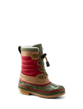 Kids Lined Winter Duck Boots by Lands' End