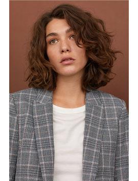 Blazer Dal Taglio Dritto by H&M