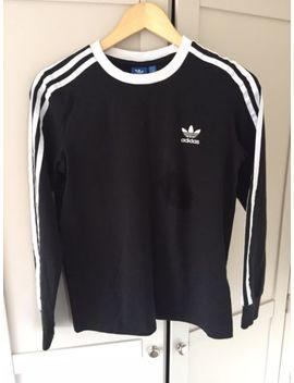 Adidas Originals Long Sleve Top   Size 10 Black by Ebay Seller