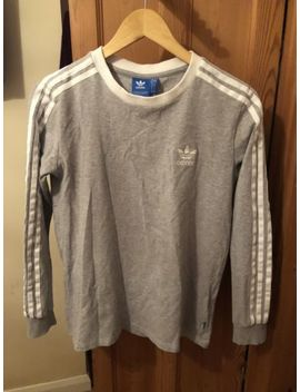 Adidas Women's 3 Stripes Long Sleeved Top Size Uk 12 by Ebay Seller