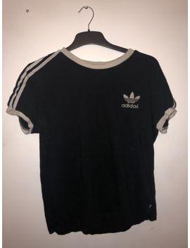 Adidas Originals 3 Stripe Men's T Shirt   Small by Ebay Seller