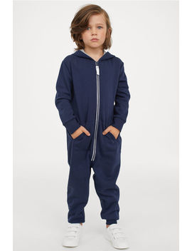 Jumpsuit With A Hood by H&M
