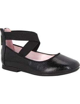 Marissa Cross Strap Flat by Nina