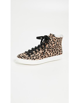 Lace Up Leopard Sneakers by One By Dept. Of Finery