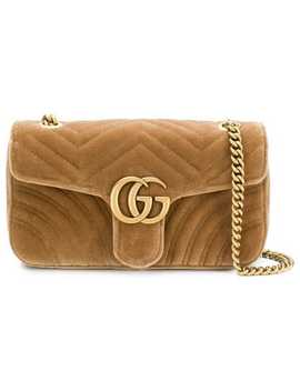 Gg Marmont Chain Shoulder Bag by Gucci