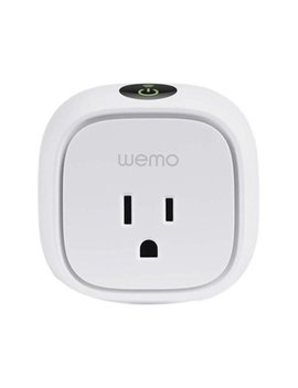 Wemo Insight Smart Plug With Energy Monitoring, No Hub Required by We Mo