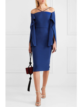 Fenland Off The Shoulder Cady Dress by Roland Mouret