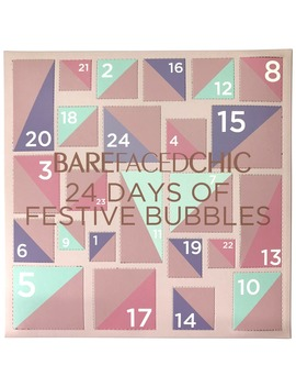 24 Days Of Festival Bubbles by Barefaced Chic