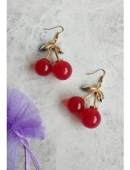 Juicy Cherry Earrings by Accessory Jam