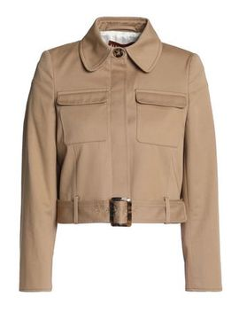 Belted Cotton Gabardine Jacket by Alexachung