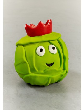 Brussels Sprout Ball Christmas Dog Toy (8cm X 8cm) by Matalan