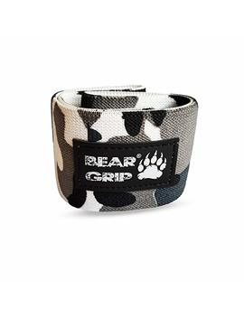 Bear Grip Hip Band Circle   Glute Activation Band Heavy Elasticated Cotton In Two Sizes Ideal For Warm Ups … by Bear Grip