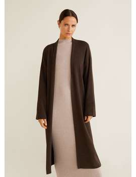 """<Font Style=""""Vertical Align: Inherit;""""><Font Style=""""Vertical Align: Inherit;"""">Long Cotton Cardigan </Font></Font> by Mango"""