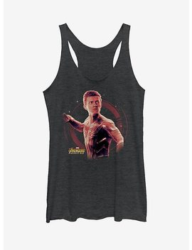Marvel Spider Man Peter Parker Girls Tank by Hot Topic