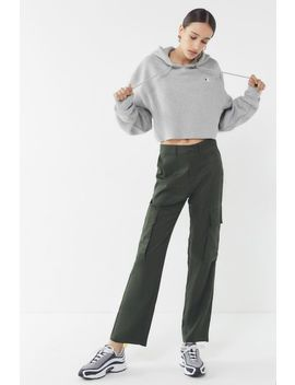 Uo Kiara Tencel Cargo Trouser Pant by Urban Outfitters