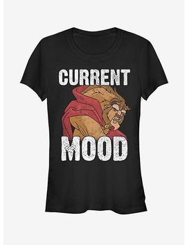 Disney Beauty And The Beast Current Mood Girls T Shirt by Hot Topic