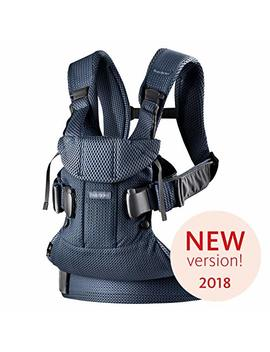 BabybjÖrn Baby Carrier One Air, 3 D Mesh, Navy Blue, 2018 Edition by Baby Bjorn