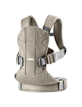 Baby Björn One Air Baby Carrier 2018, Grey/Yellow by Baby Björn