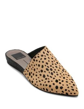 Women's Ekko Calf Hair Mules by Dolce Vita