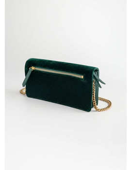 Velvet Crossbody Bag by & Other Stories