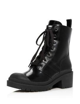 Women's Bristol Leather Lace Up Booties by Marc Jacobs