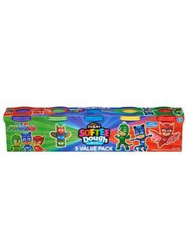 Pj Masks   Softee Dough 5 Value Pack by Pj Masks