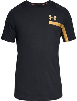 Under Armour Mens Ua Perpetual Graphic Short Sleeve Black  (1306380) by Under Armour