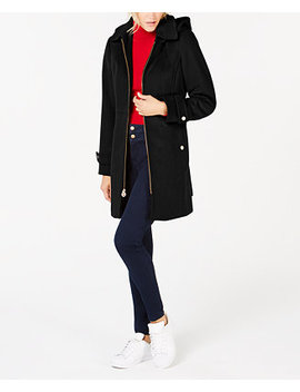 Hooded Stand Collar Coat by Michael Michael Kors