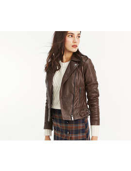Leather Biker Jacket by Oasis