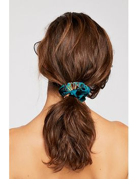 Burnout Velvet Scrunchie by Free People