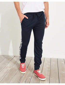 Taper Tricot Track Pants by Hollister