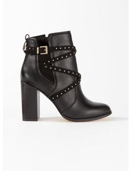 Daily Multi Strap Boots by Miss Selfridge