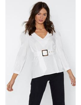 Unfinished Business Top by Nasty Gal
