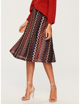 Patterned Skirt by Reserved