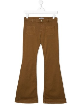 Flared Trousers by Dondup Kids