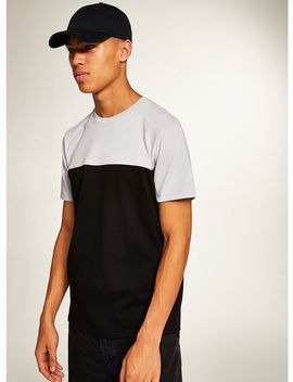 Black 'handle' T Shirt by Topman